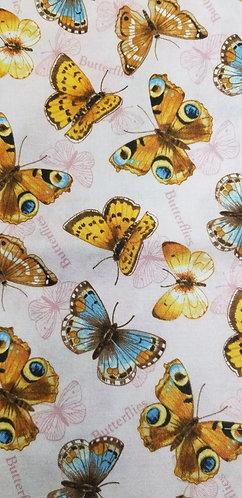 Pink Butterflies Martingale