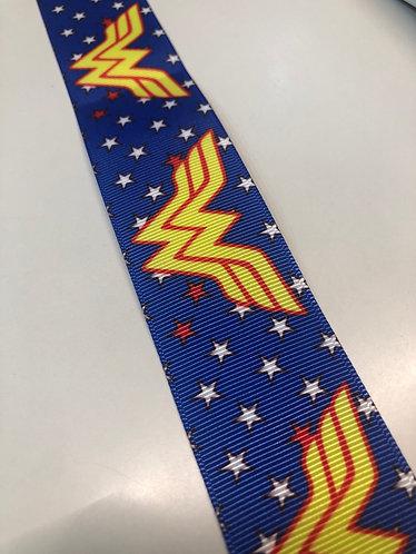 Wonder Woman blue collar
