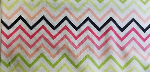 Pink and Green Zig Zag Martingale