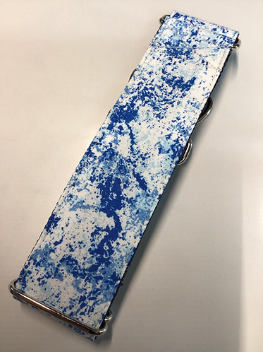 Blue Spray Paint Martingale