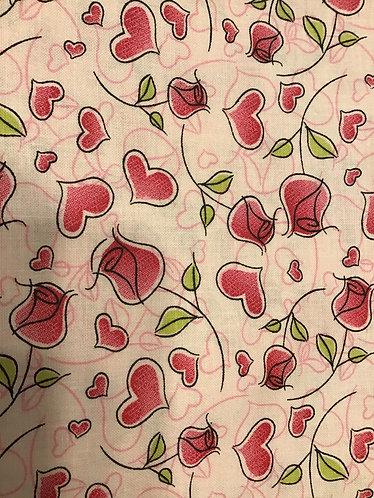 Valentine roses collar