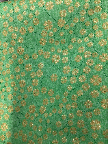 Glittery St Patrick's day collar