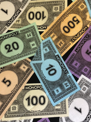 Monopoly money martingale
