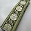 Thumbnail: Fancy green floral collar