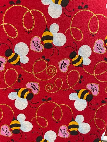 Bee my valentine collar SKU 0450