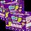 Thumbnail: Kit 02 Displays DipnLik de 25 unidades cada Sabor Uva. Total 50 unids.