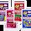 Thumbnail: Kit 02 Displays DipnLik de 50 unidades cada Sabores Sortidos. Total 100 unids.