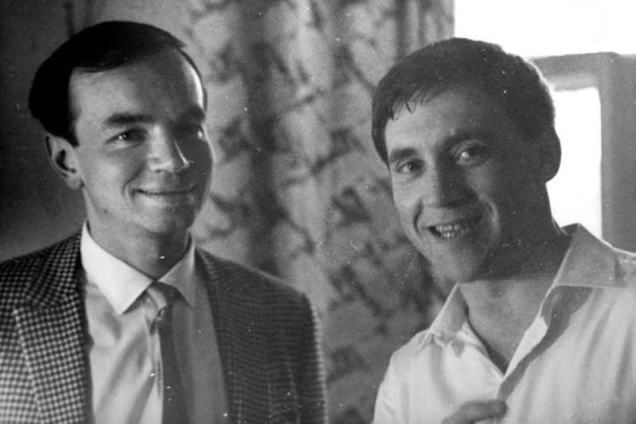 Андрей Вознесенский и Владимр Высоцк