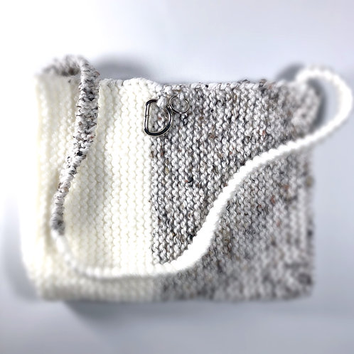 "2 TONE TOTE ""IVORY DREAM"""