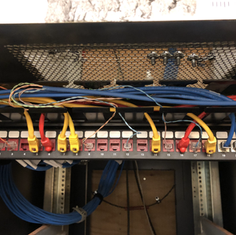 New Data Cabinet Install