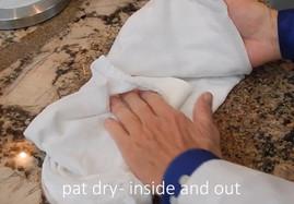 清潔繃帶步驟(4)