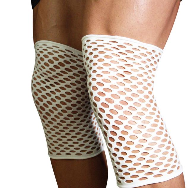 扭邊得治彈性繃帶-網狀-膝蓋-男生