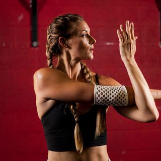 扭邊得治彈性繃帶-網狀-手肘
