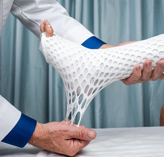 扭邊得治彈性繃帶-網狀-腳踝-調整