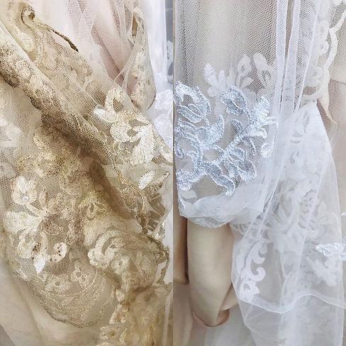 Brautkleid Reinigung online Brautkleid umweltfreundlich reinigen lassen Atelier Brautzauber