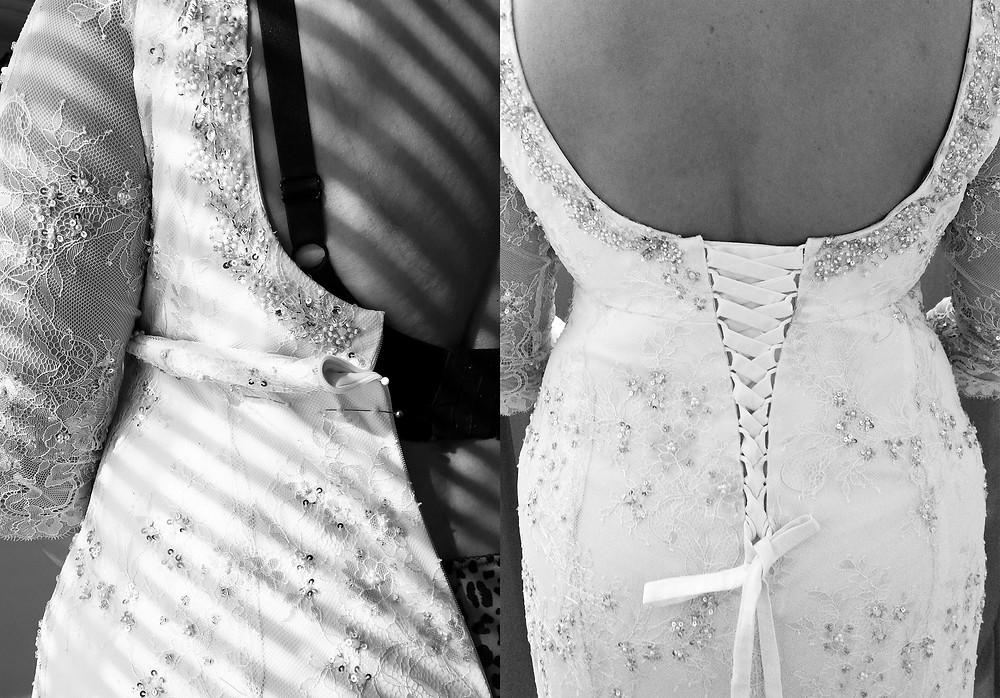 Brautkleidänderung Schwanger