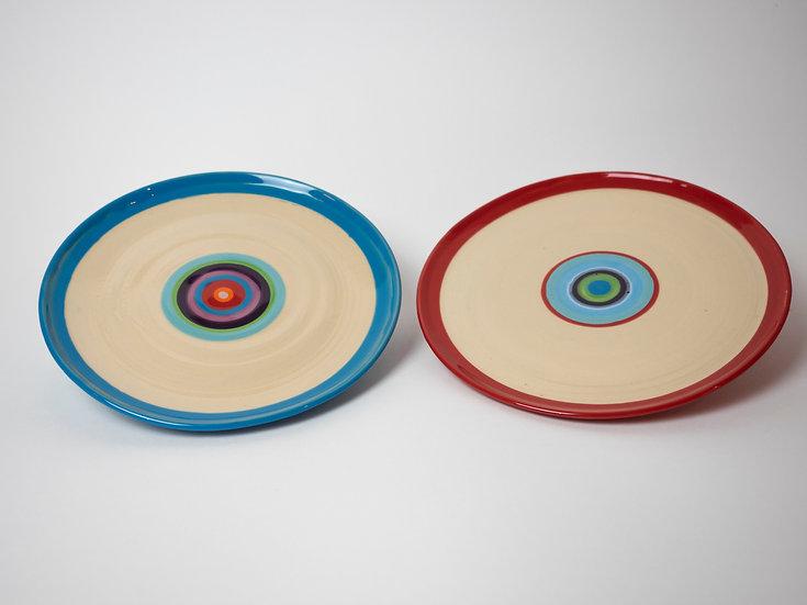 Set - zwei Dessertteller