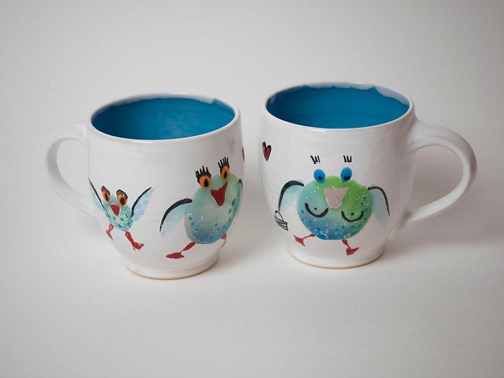 Zwei Tassen - Vögel (2)