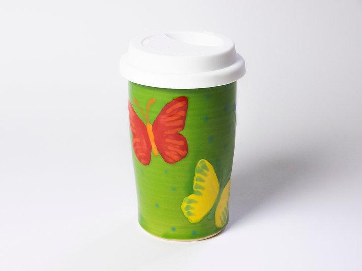 Coffee to go - Schmetterlinge
