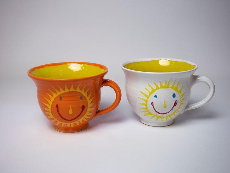 Set - 2 Tassen, Sonne