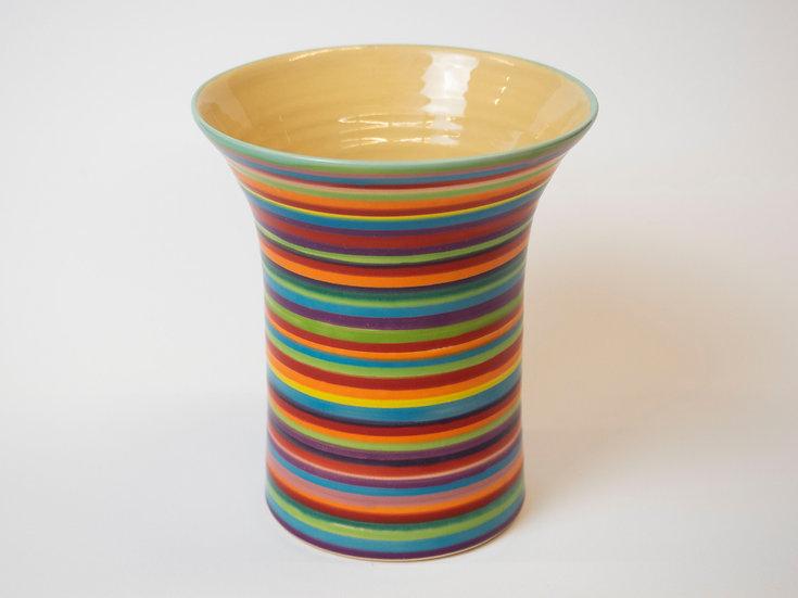 Vase - gestreift