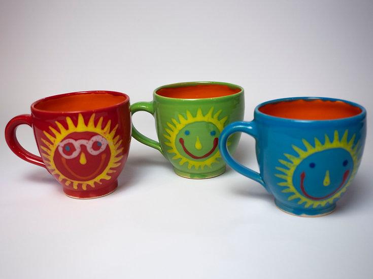 Set - 3 Tassen, Sonne
