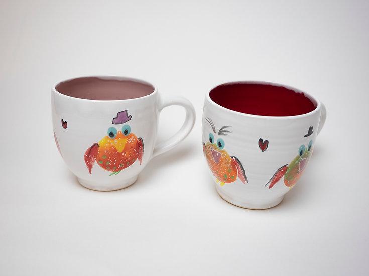 Zwei Tassen - Vögel (1)