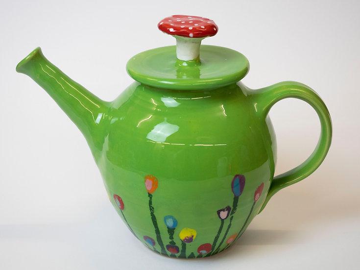 Teekanne - Wiese