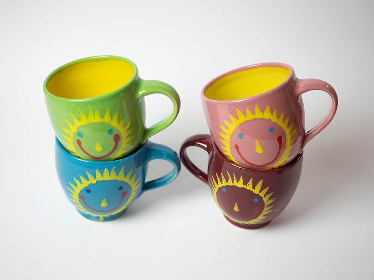 4 Sonnen Tassen