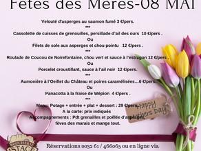 Fête des Mères le 08 Mai