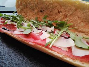 La carte des sandwiches