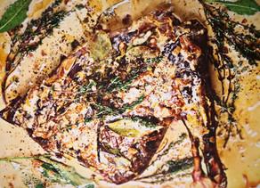 Gigue de chevreuil au Sauternes