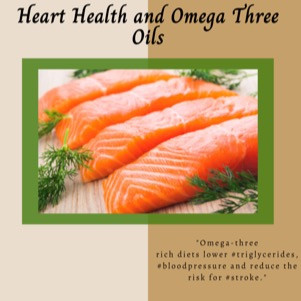 Heart Health and Omega Three Oils (Guest Post)