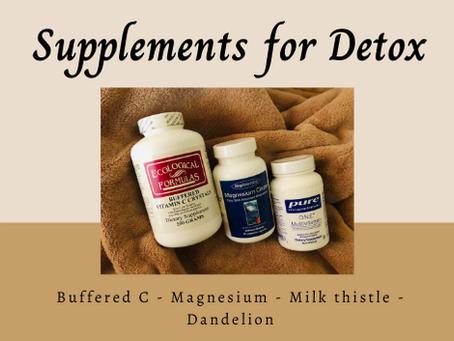 Supplements for Detox (Guest Post)