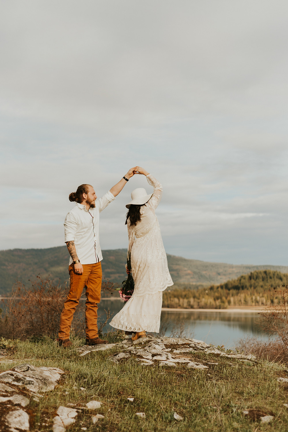dancing north idaho couples photography elopements
