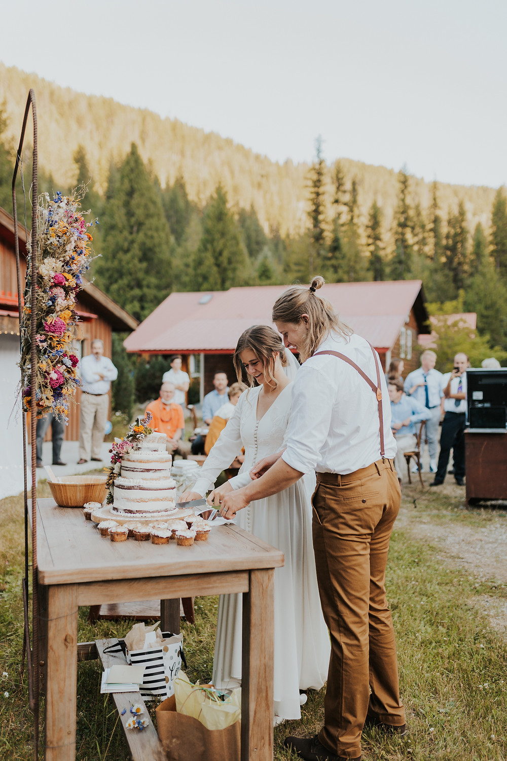 Cake Cutting in Idaho Mountains