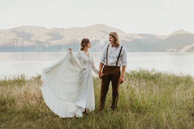 Adventurous Sunset Bridals in the Mountains