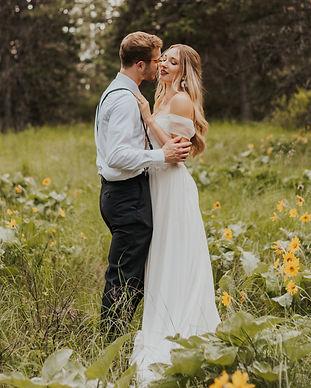 wildflower adventure bridals, hiking bridals in north idaho