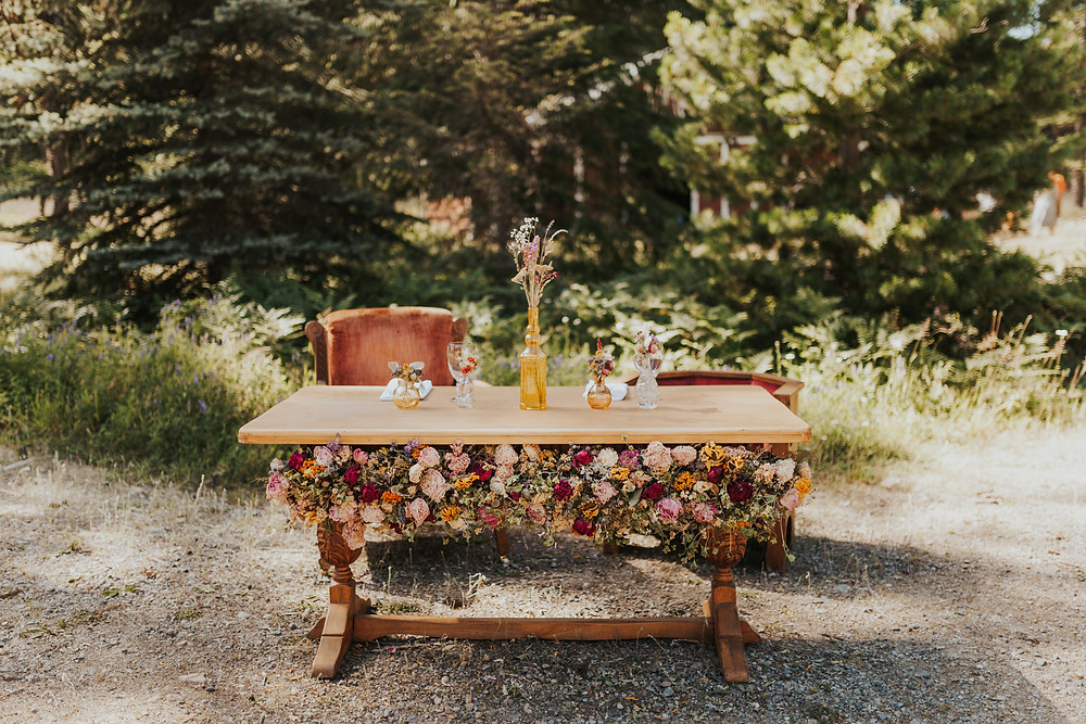 Idaho Wedding Details