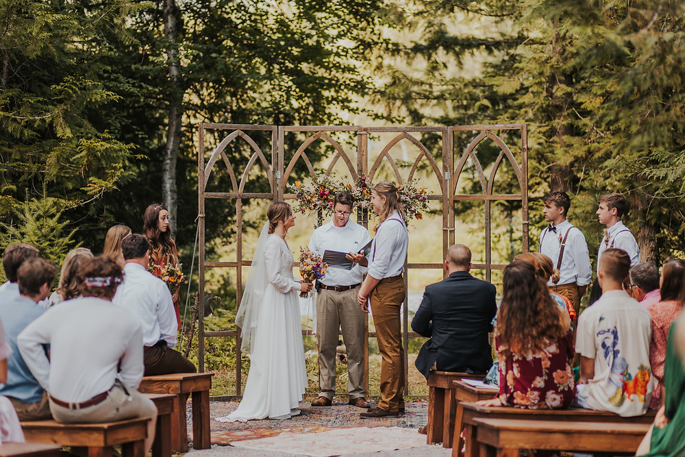 Pacific Northwest Wedding Ceremony