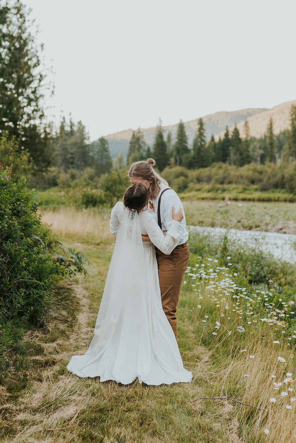 Bride and Groom Adventure Portraits