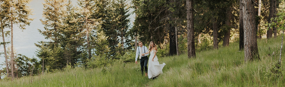 Mountain Elopement Overlooking the Lake