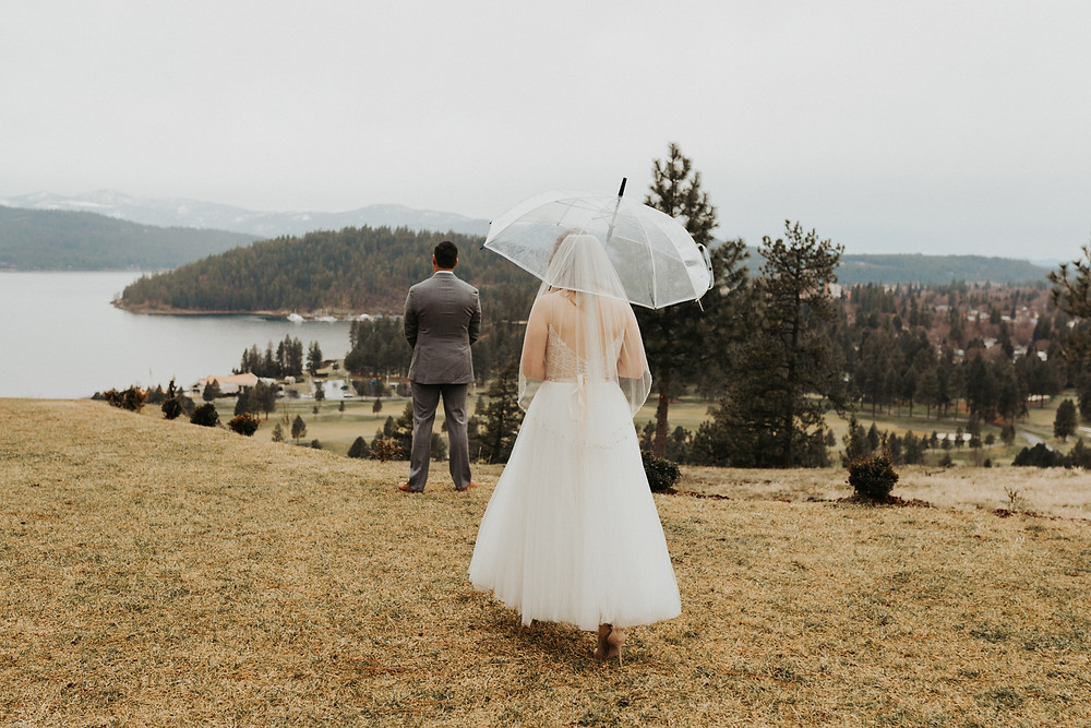 rainy day bridals on the mountain coeur d'alene idaho