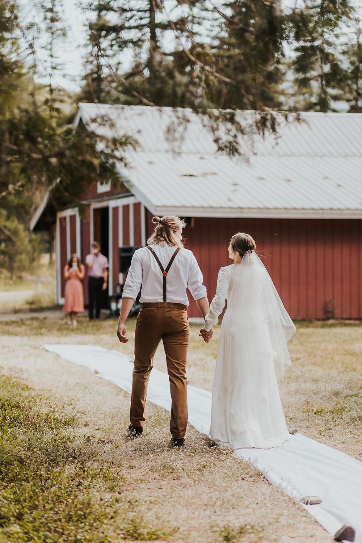 Pacific Northwest Wedding Ceremony