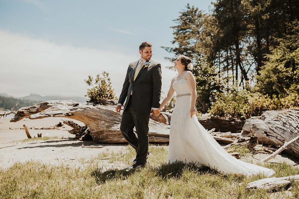 first look on the beach in oregon