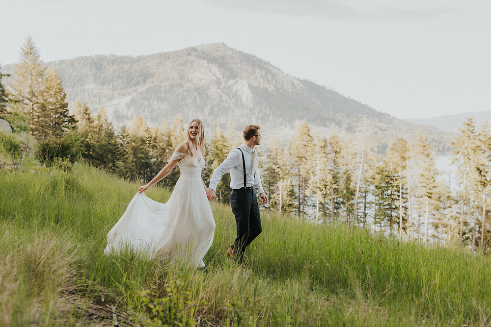 idaho mountain adventure elopement