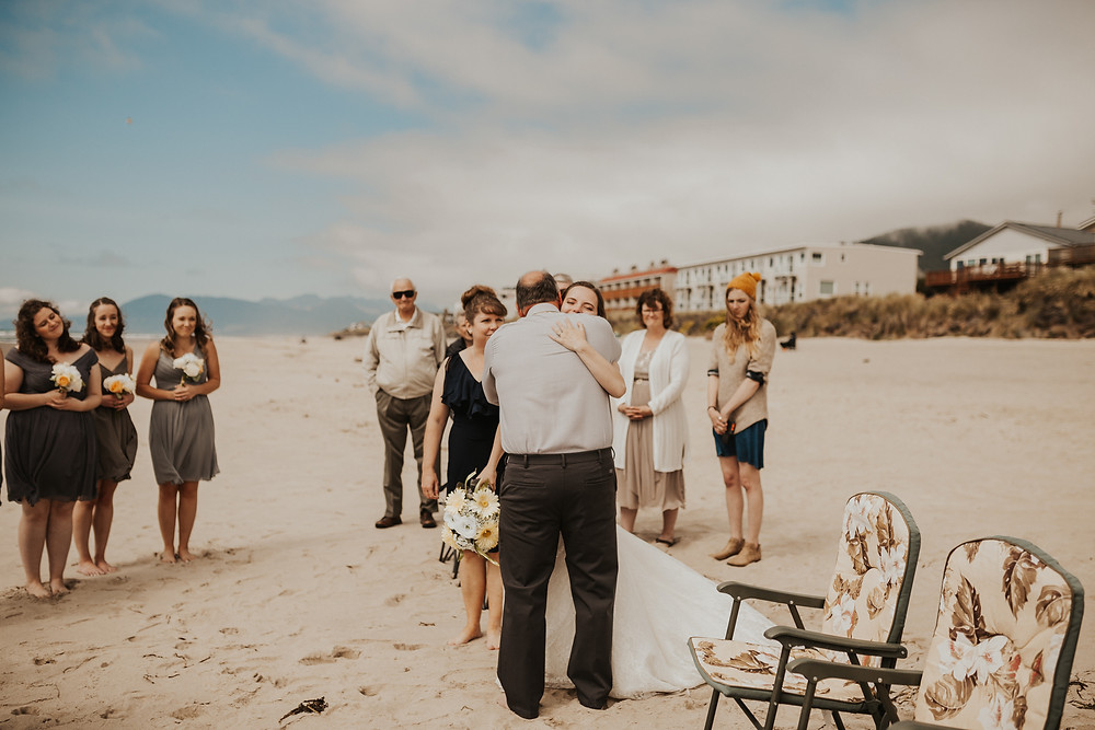 Intimate Rockaway Beach Adventure Elopement