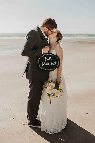 oregon coast elopement bridals photography