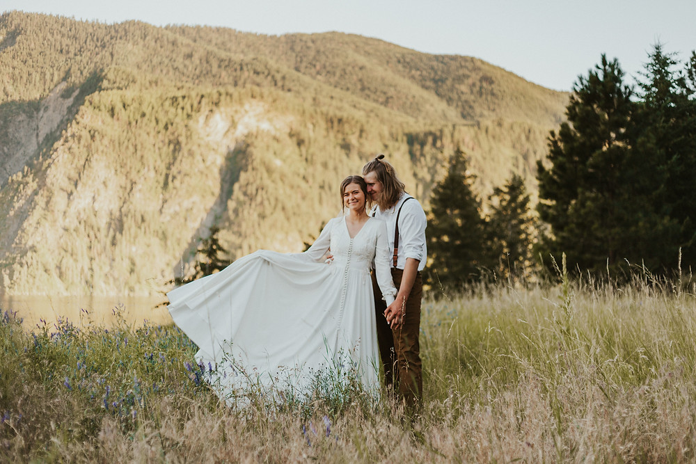 how to elope in idaho elopement adventure bridals in the mountains