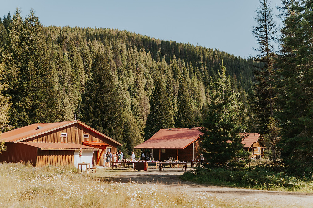 Idaho Wedding in the mountains